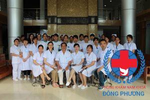 Đội ngũ chuyên gia y bác sĩ giỏi của phòng khám nam khoa Đông Phương
