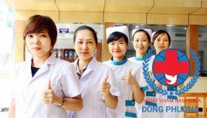 Đội ngũ nhân viên phòng khám nam khoa Đông Phương luôn tận tâm với công việc