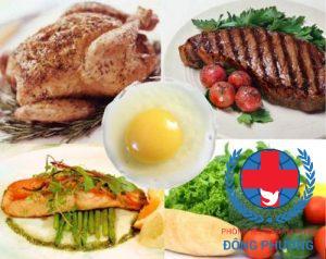 Hạn chế ăn những loại thức ăn chứa nhiều protein khi bị suy thận
