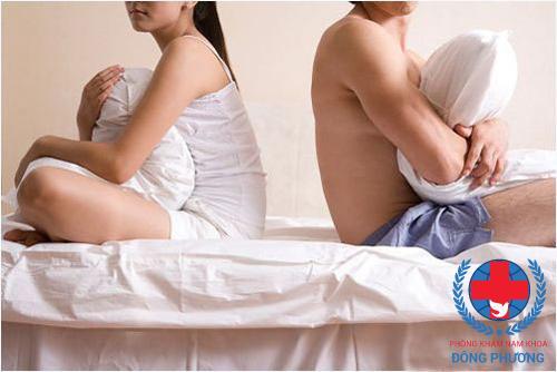 Hẹp bao quy đâu khiến nam giới khó khăn trong quan hệ