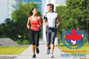 Tập thể dục đều đặn sẽ giúp nam giới khắc phục tình trạng này