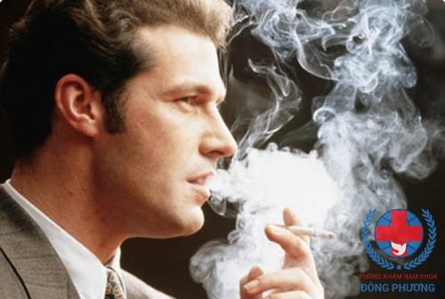 Tinh trùng chết do hút thuốc lá