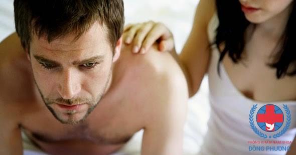 Dấu hiệu yếu sinh lý ở đàn ông