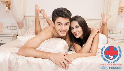 Nam giới bị yếu sinh lí có quan hệ tình dục được không?