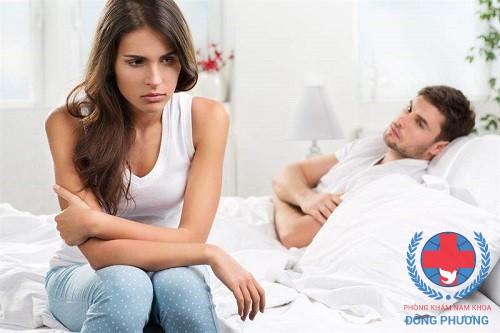 Triệu chứng liệt dương điển hình ở nam giới là gì?