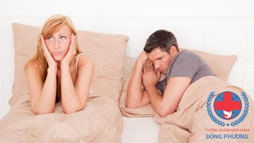 Rối loạn cương dương sẽ khiến nam giới không thể cương cứng dương vật, ảnh hưởng sâu sắc đến đời sống tình dục!