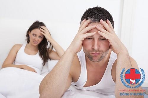 triệu chứng lậu ở nam giới